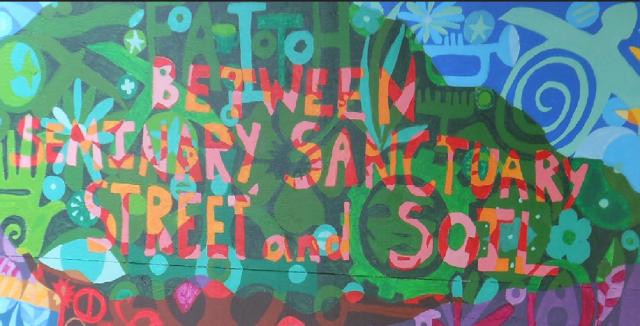 between seminary sacred street soil