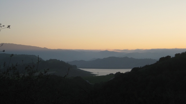 sunset lake cassitas