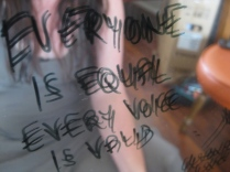 everyone is equal, every voice is valid