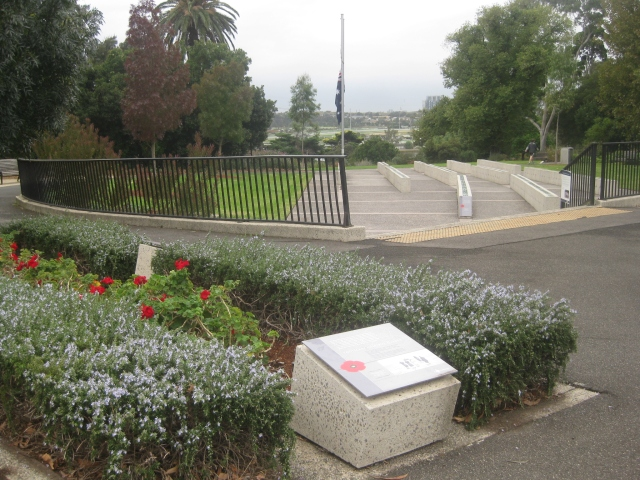 war memorial footscray lest we forget avenue of honour ANZAC Day 2018