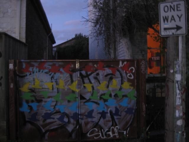 rainbow graffiti australia marriage plebiscite september 2017 love wins christians for marriage equality ally