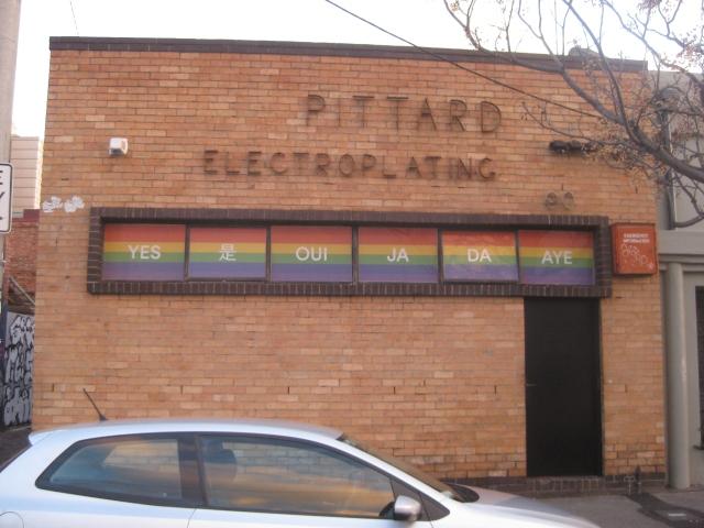 christian LGBTIQ rainbow ally gay marriage plebiscite Melbourne Yes