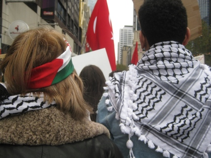 salaam shalom Bakba March 19 May 2018 Melbourne Palestine free Israel conflict non-violent protest reconciliation peace