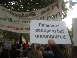 palestine: occupied but unconquered