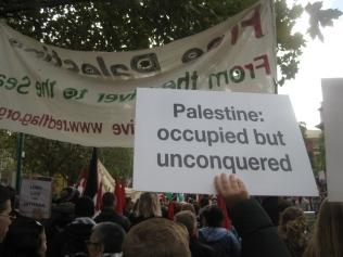 palestine: occupied but unconquered