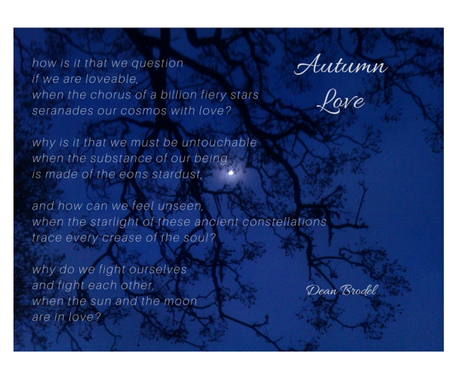 Autumn Love dean brodel stardust poem