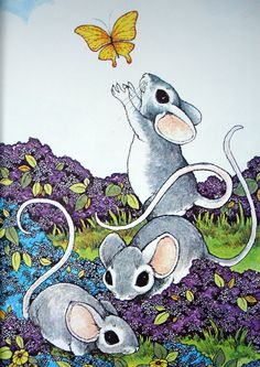 Stephen cosgrove serendipity books mice woodland animalsillustrations-serendipity