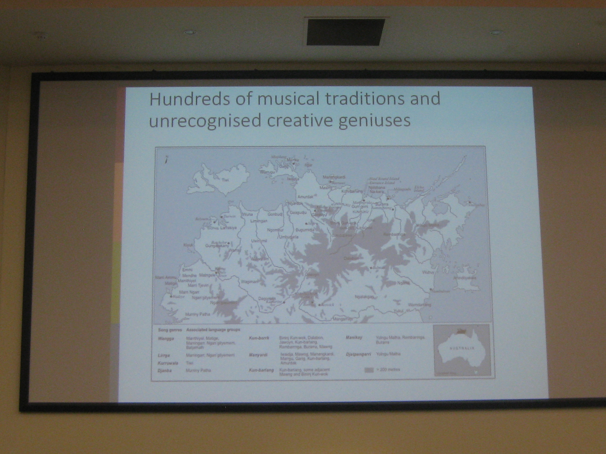 map Waving to the other side: language of poetry in indigenous Australian song Nick Evans University of Melbourne 2018 indigenous genius aboriginal musical traditions and creative geniuses