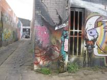graffiti walk Footscray laneway