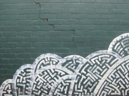 twilight walk home footscray graffiti