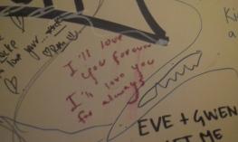 bathroom wall graffiti fitzroy
